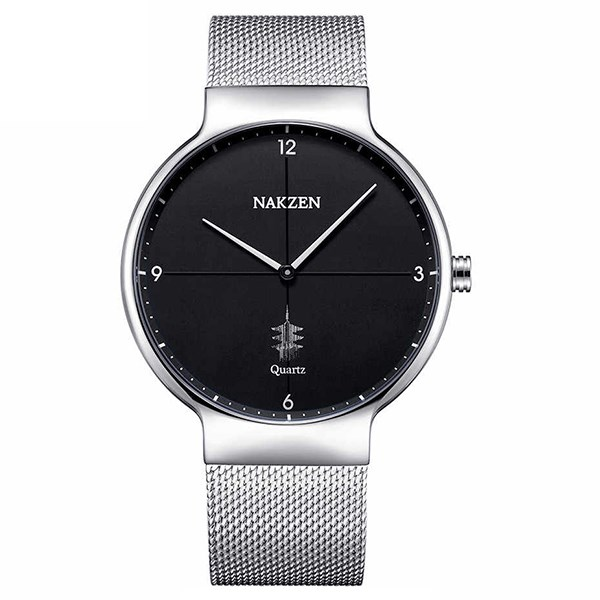 Đồng hồ Nam Nakzen SS4051G-1 - Đen