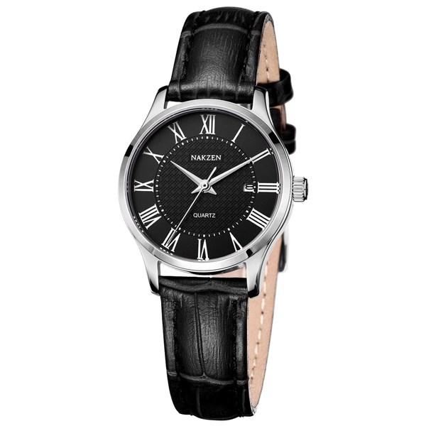 Đồng hồ Nữ Nakzen SL4043LBK-1