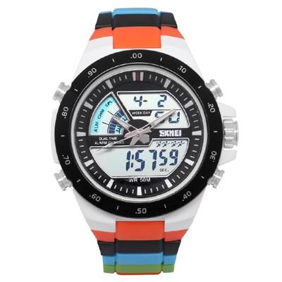 Đồng hồ Nam Skmei SK-1016 Cam