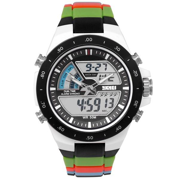 Đồng hồ Nam Skmei SK-1016 Xanh lá