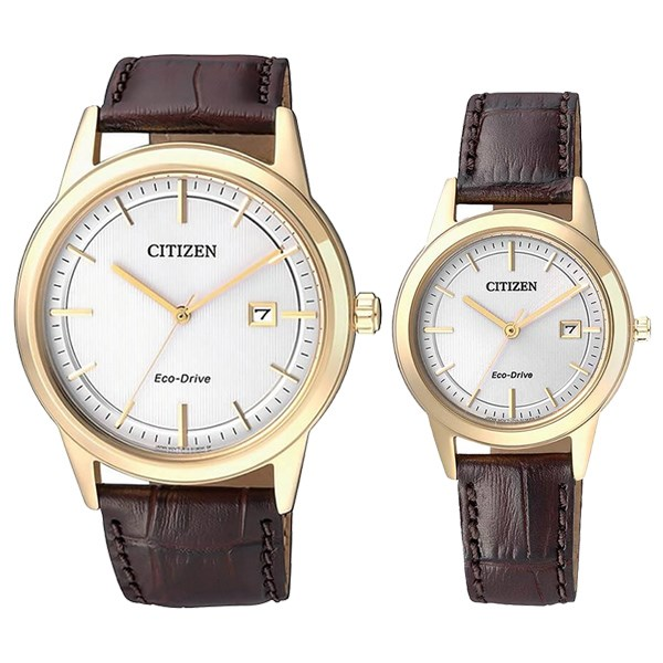 Đồng hồ đôi Citizen FE1083-02A/AW1233-01A