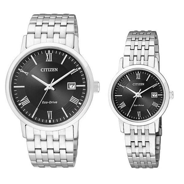 Đồng hồ đôi Citizen EW1580-50E/BM6770-51E