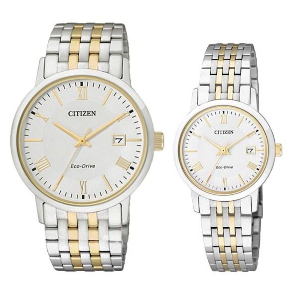 Đồng hồ đôi Citizen EW1584-59A/BM6774-51A