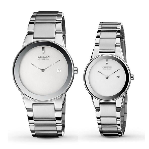 Đồng hồ đôi Citizen GA1050-51A/AU1060-51A