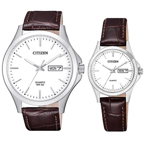 Đồng hồ đôi Citizen EQ0591-21A/BF2001-12A