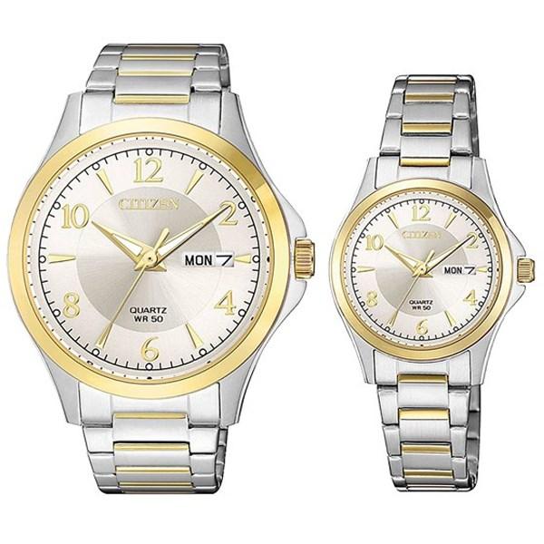 Đồng hồ đôi Citizen EQ0595-55A/BF2005-54A