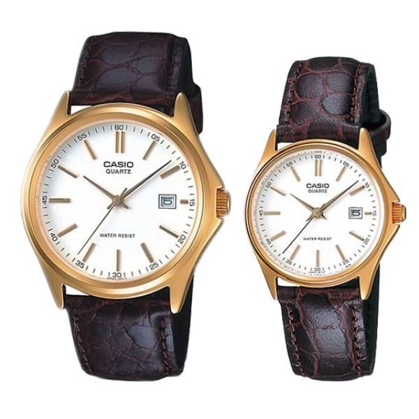 Đồng hồ đôi Casio LTP-1183Q-7ADF/MTP-1183Q-7ADF