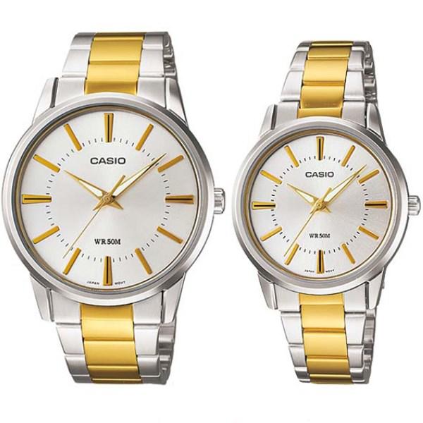 Đồng hồ đôi Casio LTP-1303SG-7AVDF/MTP-1303SG-7AVDF