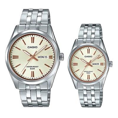 Đồng hồ đôi Casio LTP-1335D-9AVDF/MTP-1335D-9AVDF
