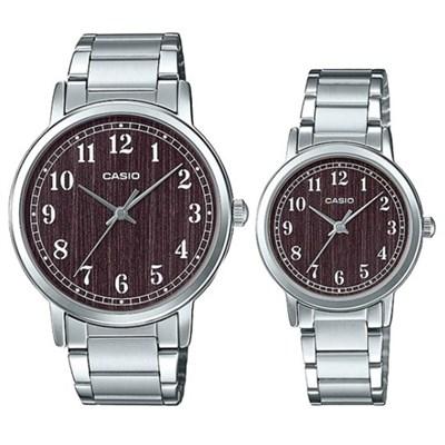 Đồng hồ đôi Casio LTP-E145D-5B1DF/MTP-E145D-5B1DF