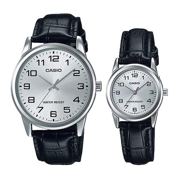 Đồng hồ đôi Casio LTP-V001L-7BUDF/MTP-V001L-7BUDF