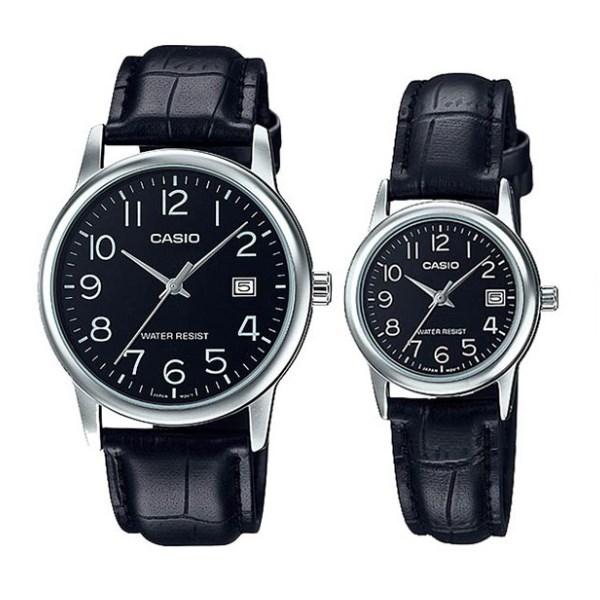 Đồng hồ đôi Casio LTP-V002L-1BUDF/MTP-V002L-1BUDF
