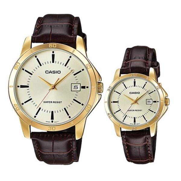 Đồng hồ đôi Casio LTP-V004GL-9AUDF/MTP-V004GL-9AUDF