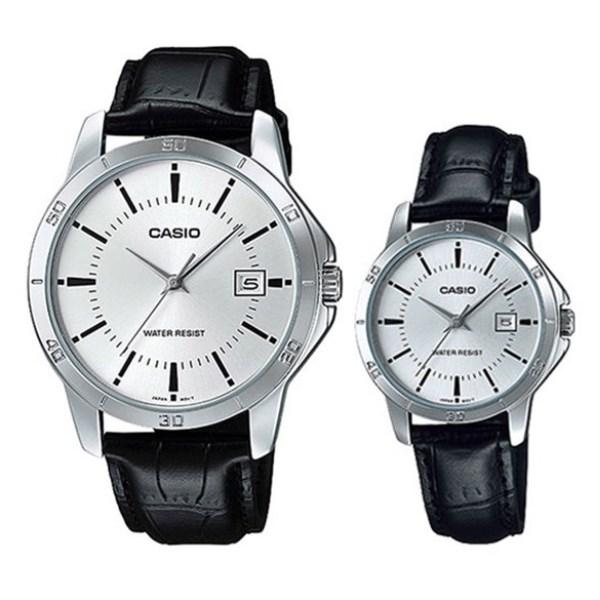 Đồng hồ đôi Casio LTP-V004L-7AUDF/MTP-V004L-7AUDF