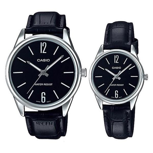 Đồng hồ đôi Casio LTP-V005L-1BUDF/MTP-V005L-1BUDF