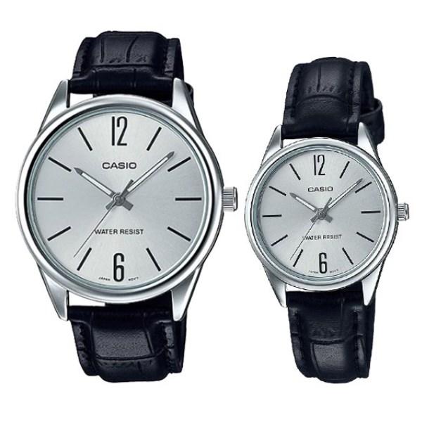 Đồng hồ đôi Casio LTP-V005L-7BUDF/MTP-V005L-7BUDF