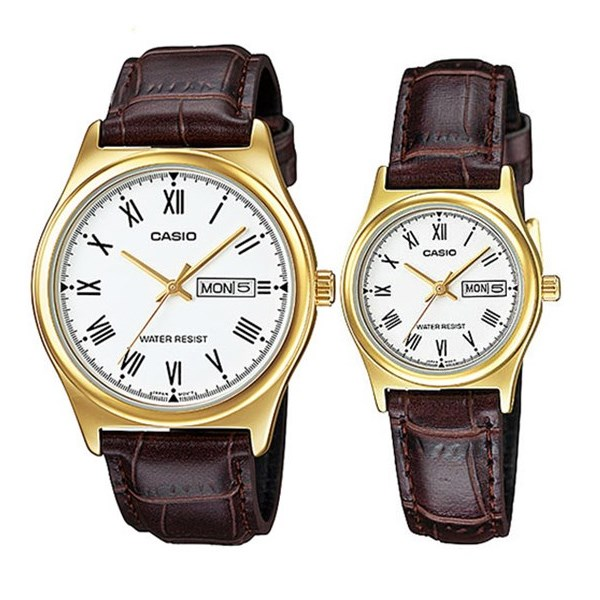 Đồng hồ đôi Casio LTP-V006GL-7BUDF/MTP-V006GL-7BUDF