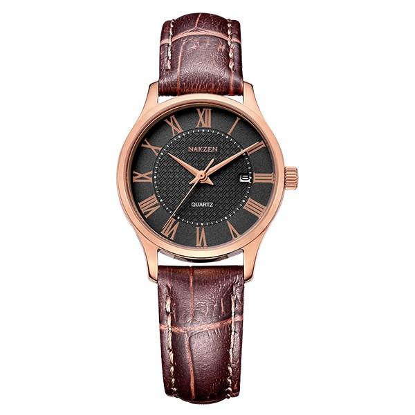 Đồng hồ Nữ Nakzen SL4043LREBN-6N0