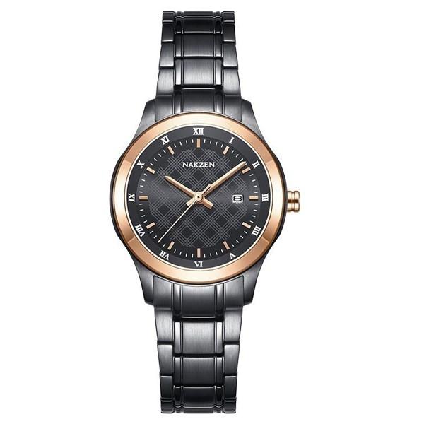 Đồng hồ Nữ Nakzen SS8012LBK-1NR