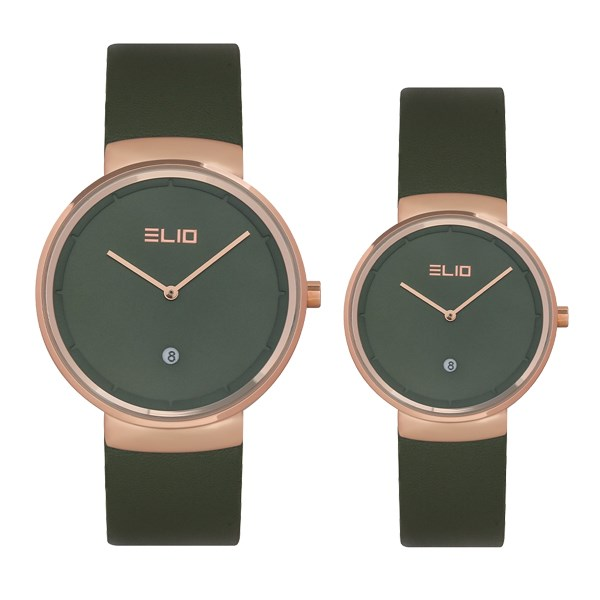 Đồng hồ đôi Elio EL066-01/EL066-02