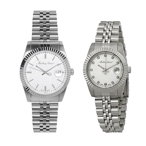 Đồng hồ đôi Mathey Tissot H810AI/D810AI
