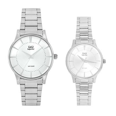 Đồng hồ đôi Q&Q S399J201Y/S398J201Y