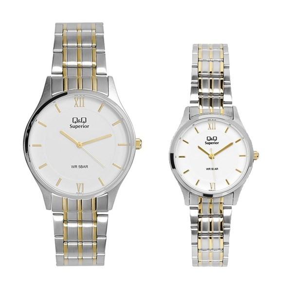 Đồng hồ đôi Q&Q S329J211Y/S328J211Y