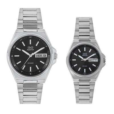 Đồng hồ đôi Q&Q S397J202Y/S396J202Y