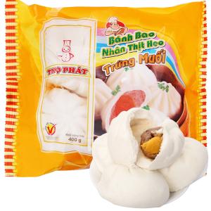 Bánh bao nhân thịt heo trứng muối Thọ Phát gói 400g