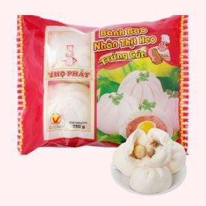Bánh bao nhân thịt heo trứng cút Thọ Phát 250g