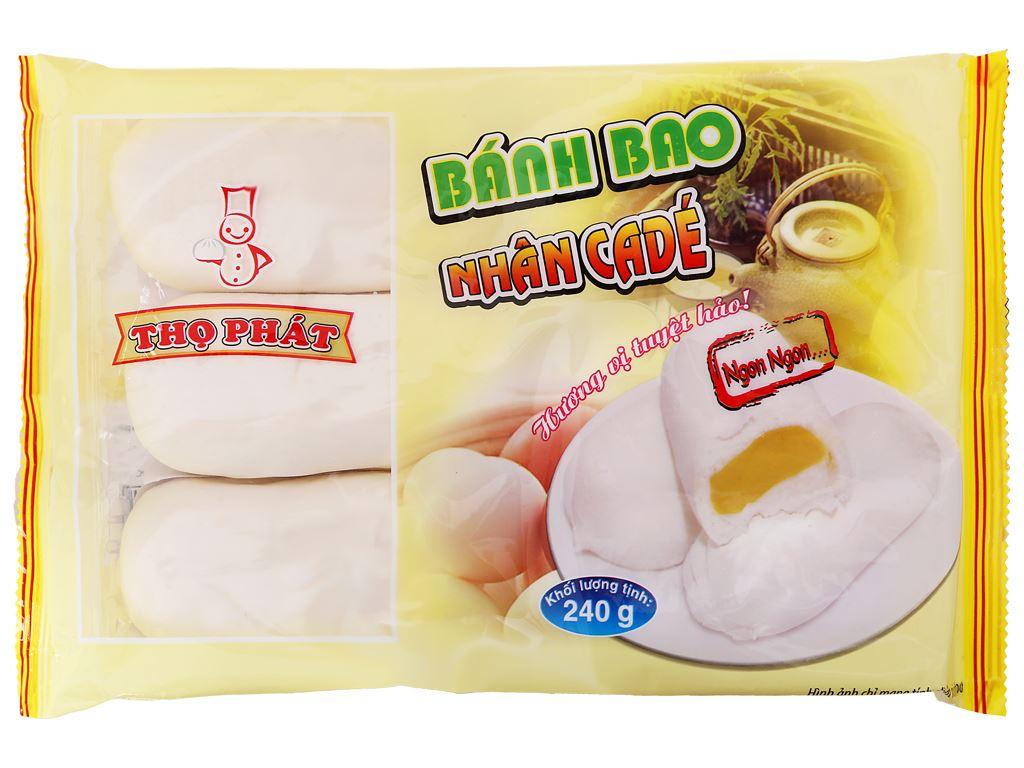 Bánh bao nhân cadé Thọ Phát gói 240g 1