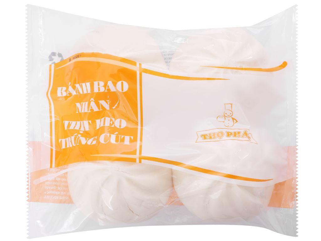 Bánh bao nhân thịt heo trứng cút Thọ Phát gói 600g 1