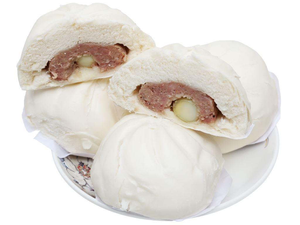 Bánh bao nhân thịt heo trứng cút Thọ Phát gói 600g 3