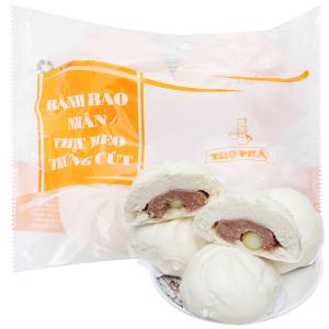 Bánh bao nhân thịt heo trứng cút Thọ Phát gói 600g