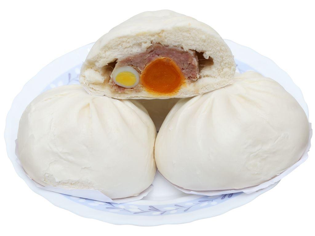 Bánh bao nhân thịt heo trứng muối Thọ Phát 680g 3