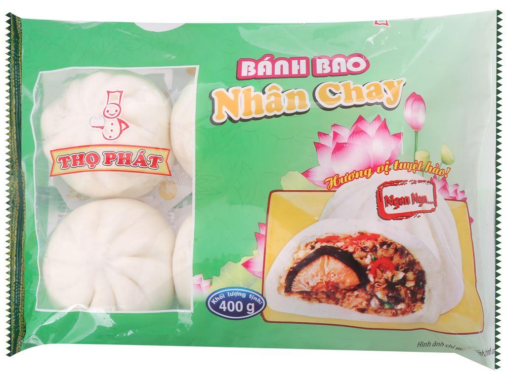 Bánh bao nhân chay Thọ Phát 400g 1
