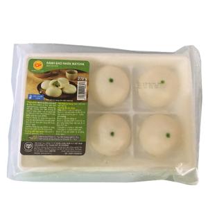 Bánh bao nhân matcha trà xanh C.P gói 270g