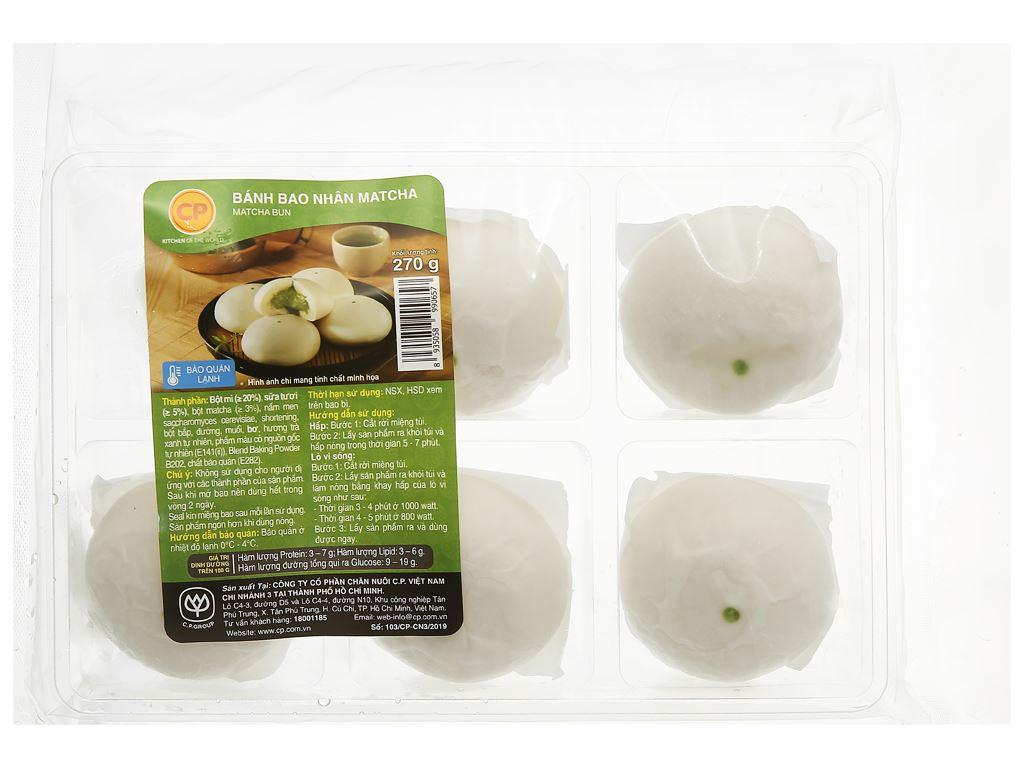 Bánh bao nhân matcha trà xanh C.P 270g 1