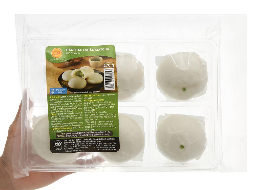 Bánh bao nhân matcha trà xanh C.P 270g 4