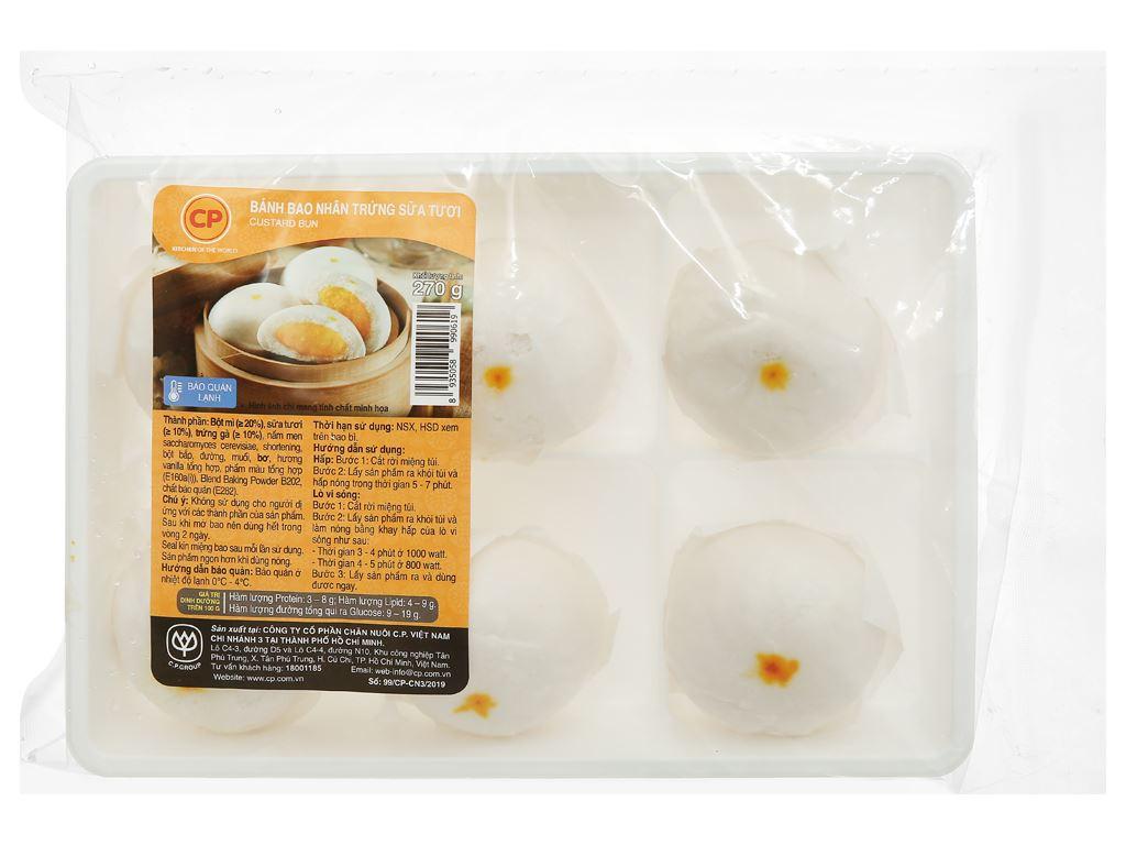 Bánh bao nhân trứng sữa C.P 270g 1