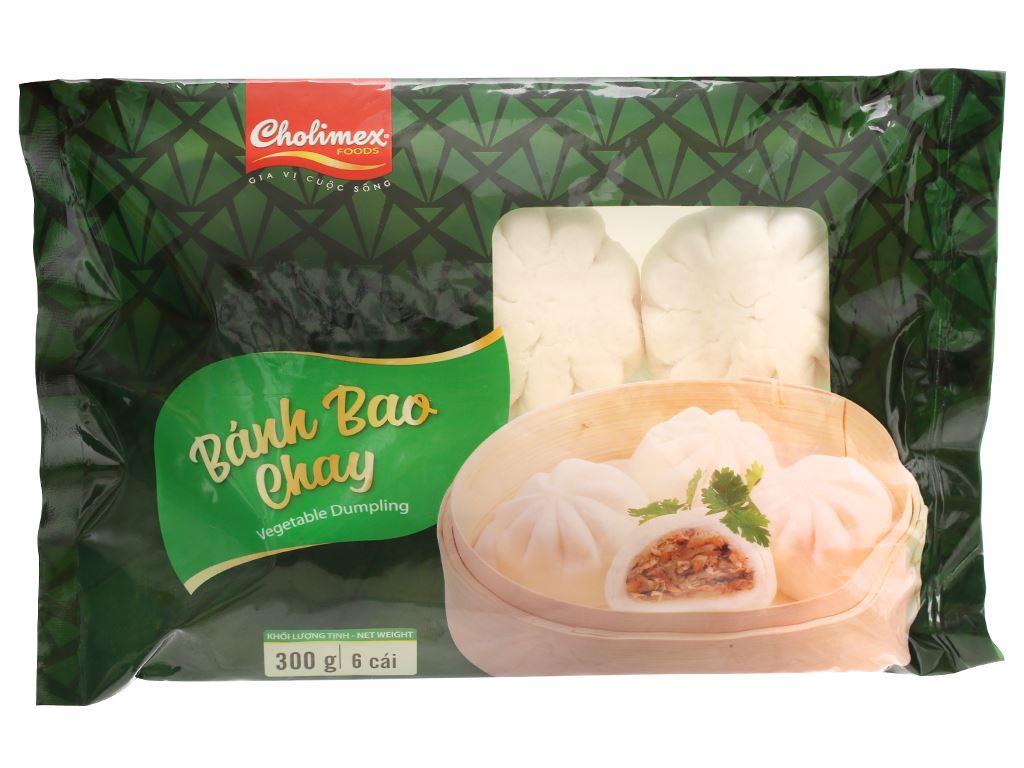 Bánh bao chay Cholimex gói 300g 1