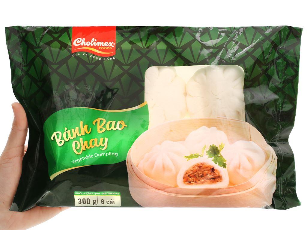 Bánh bao chay Cholimex gói 300g 4