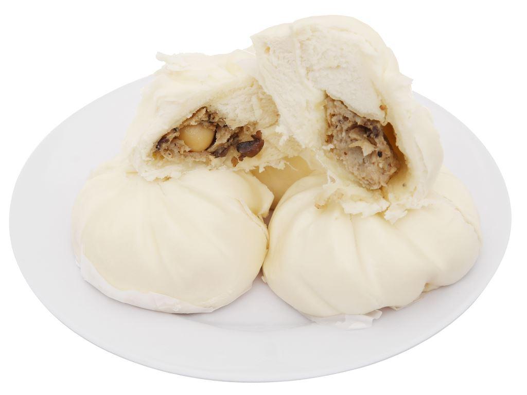 Bánh bao nhân thịt heo trứng cút La Cusina gói 400g 6