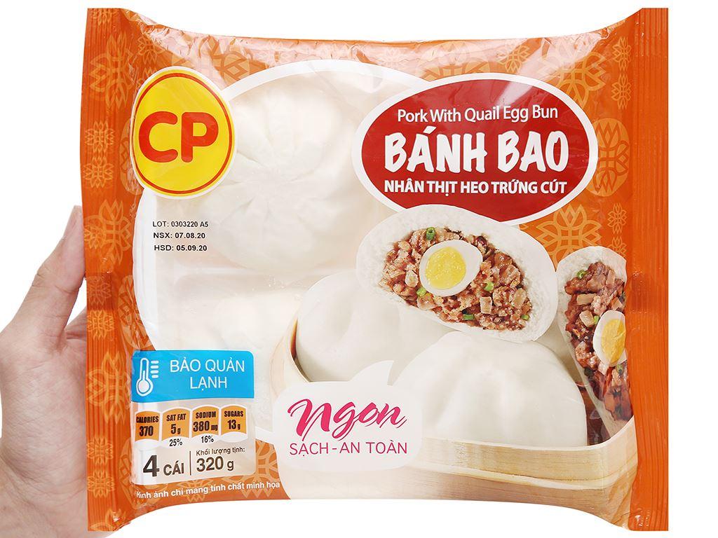 Bánh bao nhân thịt heo trứng cút C.P 320g 5