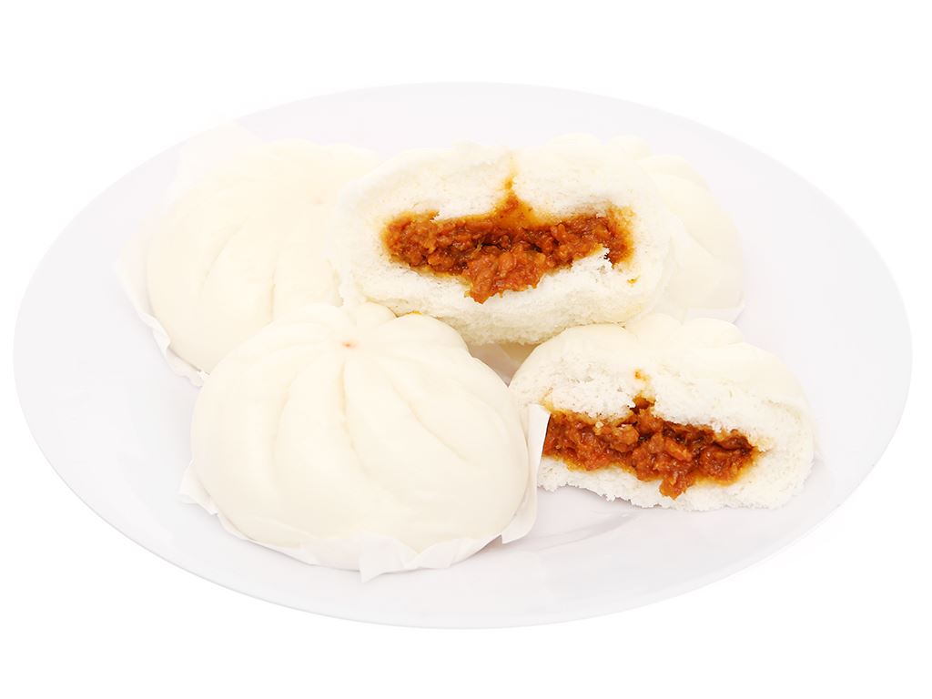 Bánh bao nhân thịt heo bbq C.P 320g 3