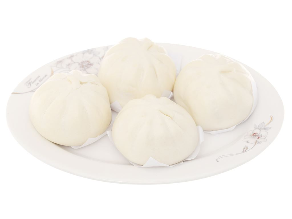 Bánh bao nhân thịt heo trứng cút Mama Food gói 250g 5
