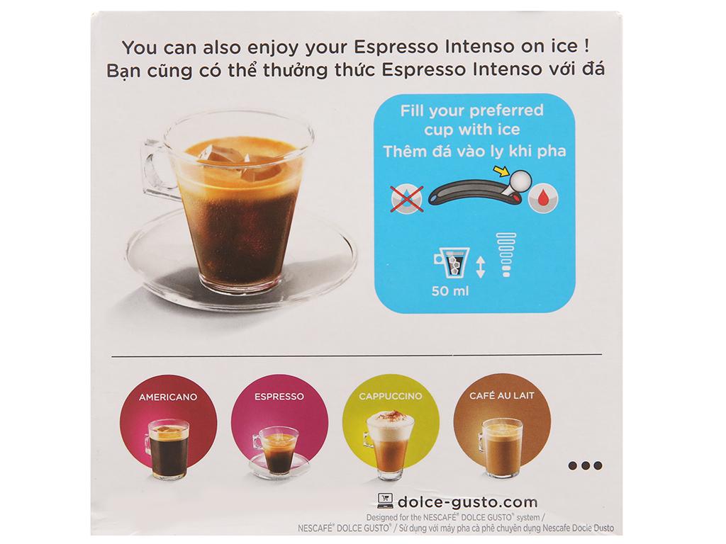 Cà phê viên nén Nescafé Dolce Gusto espresso intenso 96g (6g x 16 viên) 3