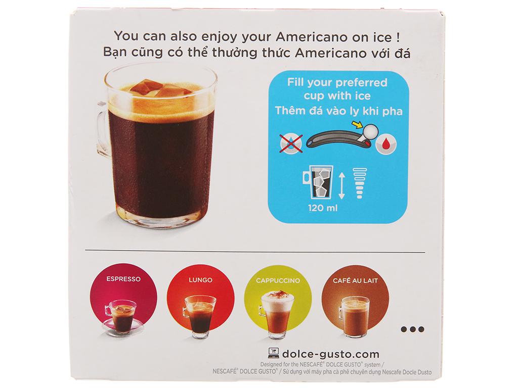 NesCafé Dolce Gusto Americano 128g (8g x 16 viên) 3