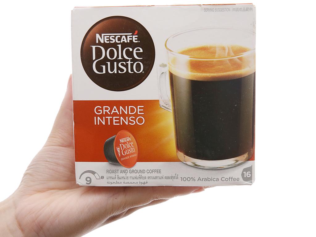 NesCafé Dolce Gusto Grande Intenso 160g (10g x 16 viên) 2
