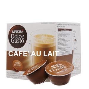 Cà phê viên nén Nescafe Dolce Gusto café au lait 160g (10g x 16 viên)